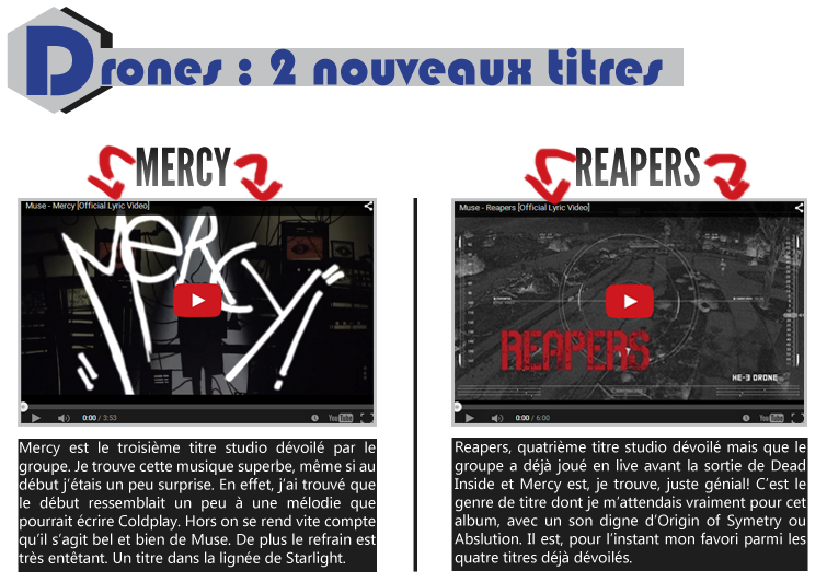 Reapers / Mercy / Concerts / ...