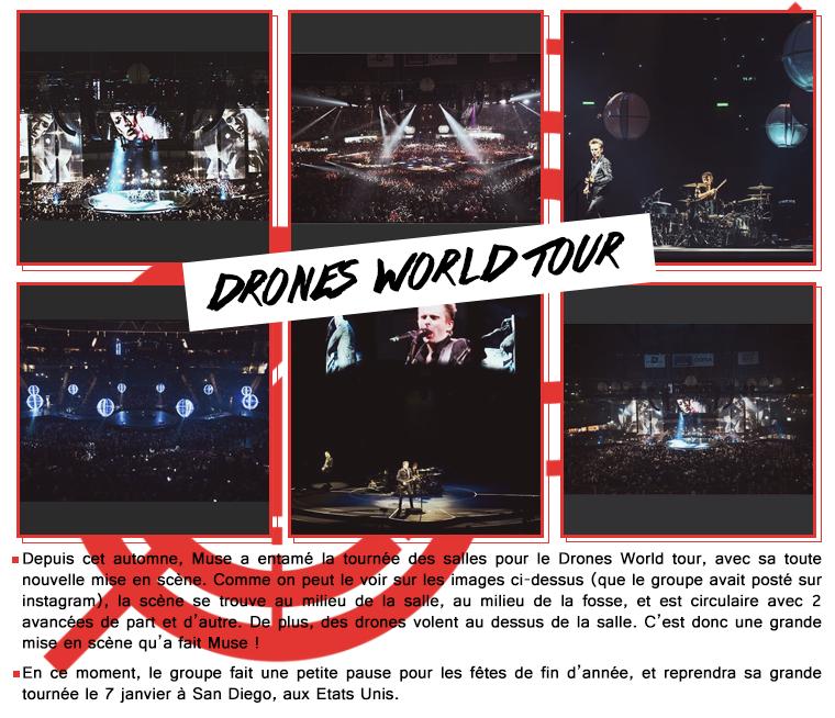 Drones World Tour + Instagram