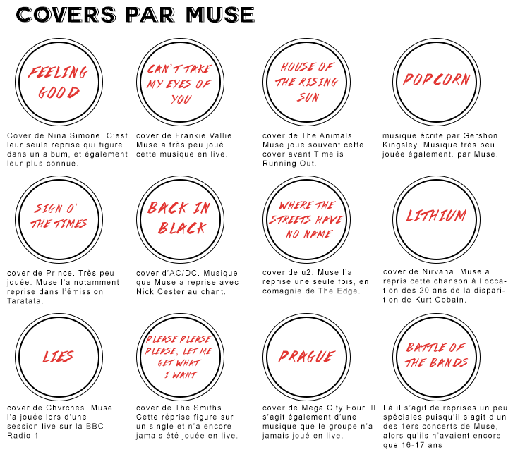 Muse covers