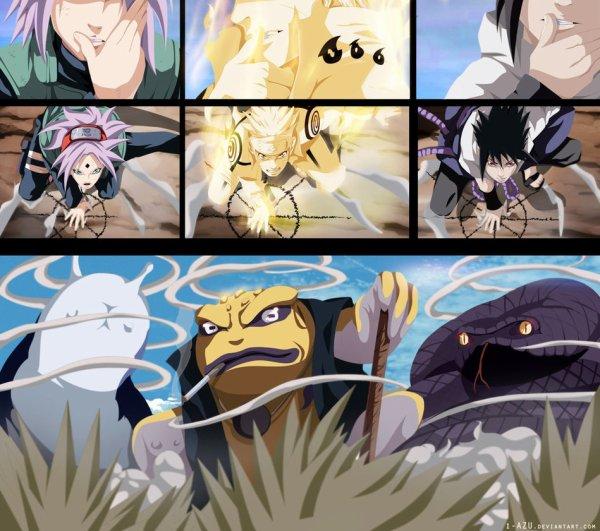 Naruto x Sasuke x Sakura : le nouveau trio légendaire :)