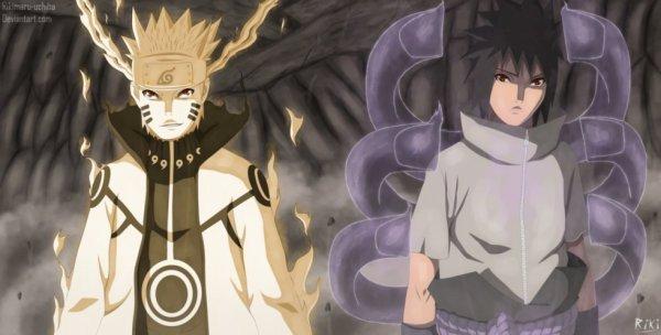 Naruto x Sasuke: Duo parfait :)