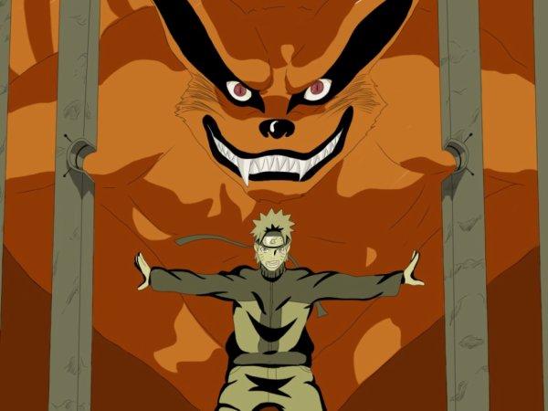 Tu n'est plus un démon renard, tu est un allier de Konoha  KURAMA !!!!