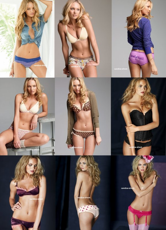 voici un photoshoot de candice pour Victoria's Secret Lingerie
