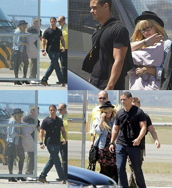 Le 30/09/2012 Demi arrive à Rio De Janeiro pour un concert au Z festival le soir même :