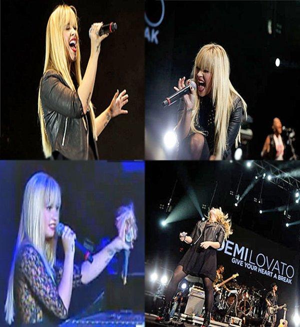 Le 30/09/2012 Demi a donné un concert lors du Z festival le à Rio De Janeiro :