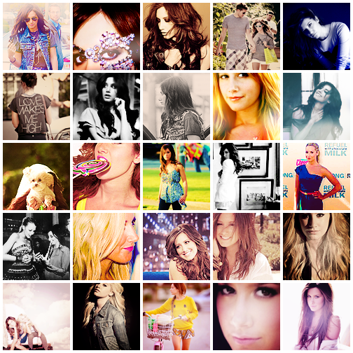 Nouvelle planche, 30 icons Ashley Tisdale.