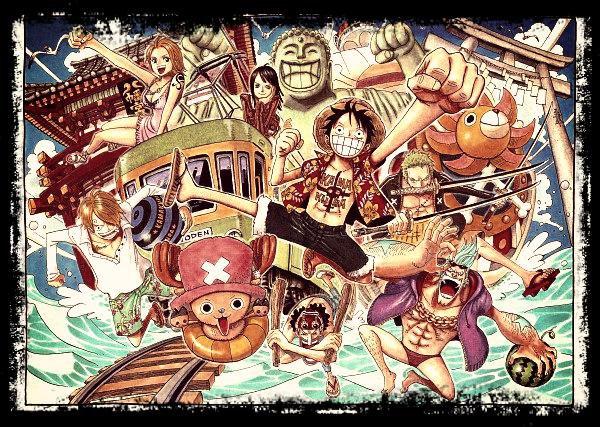 """One Piece      """" Ne laissez pas Zoro nous guider, ou bien on risquerait de se pommer ! """" Usopp"""