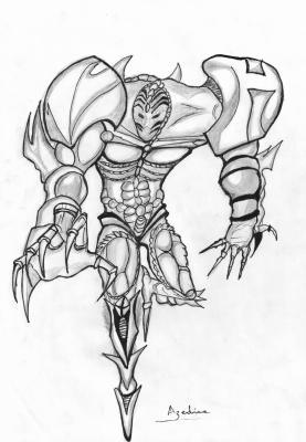 dessin manga monstre