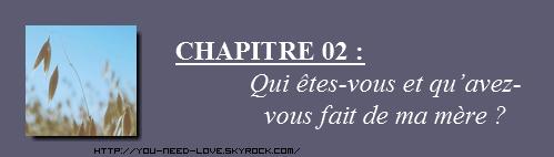 Chapitre 02.