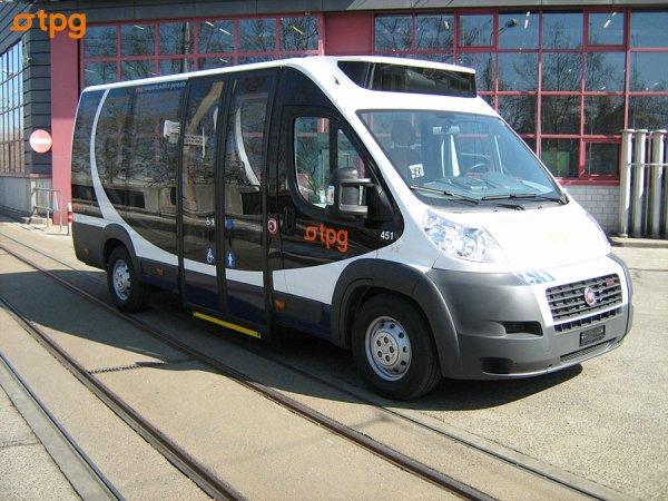 Les vehicules TPG (Les Bus)