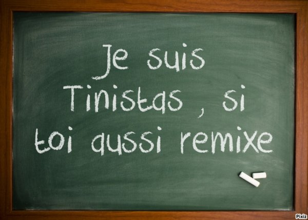 Seule les vraies Tinistas remixeront !