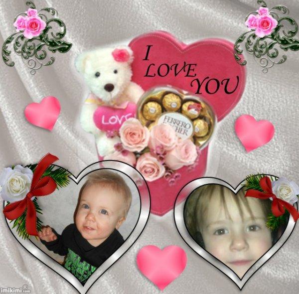 mes arriere petits enfants que j adore