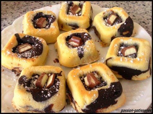 Moelleux marbré chocolat/vanille.