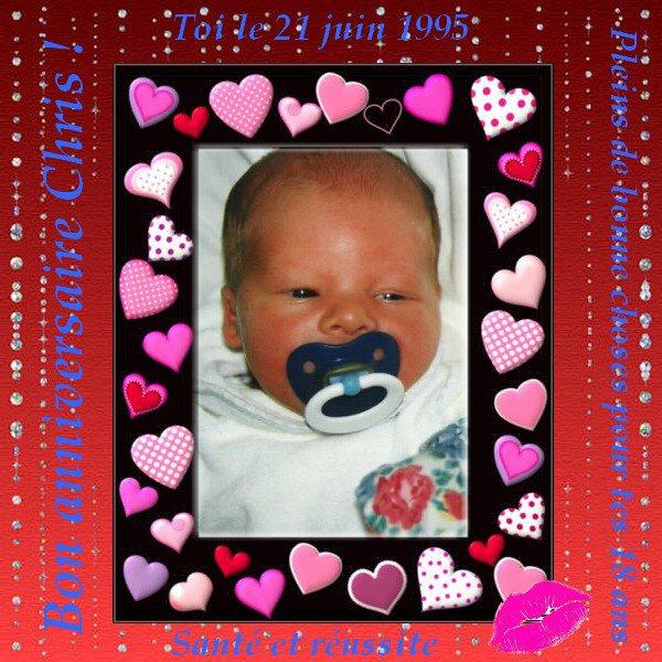♥Ƹ̵̡Ӝ̵̨̄Ʒ ♥ ♥ Ƹ̵̡Ӝ̵̨̄Ʒ ♥ Pour l'anniversaire de Chris mon fils  ♥Ƹ̵̡Ӝ̵̨̄Ʒ ♥ ♥ Ƹ̵̡Ӝ̵̨̄Ʒ ♥