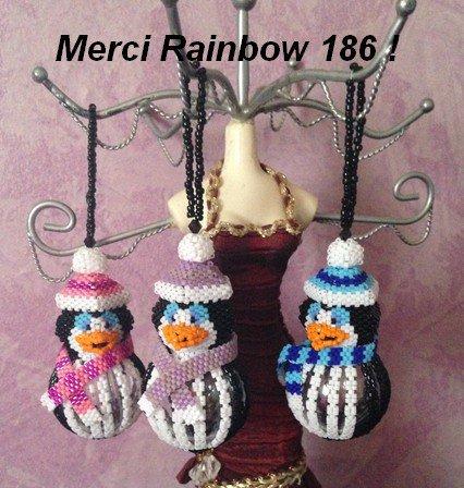 Commande faite Chez Rainbow 186
