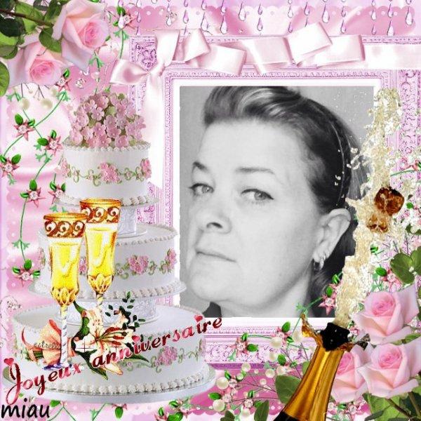 kdo pour mon amie marie mapucca pour son anniversaire le 14 novembre je te souhaite plein de bonheur et la joie surtout une bonne santé gros bisous
