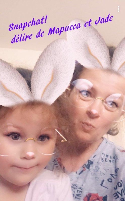 Quelques photos de Cheyenne moi et ma petite filles Jade !!!