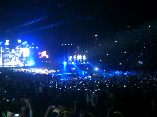 Un concert plus que parfait, ils m'ont vendu du rêve toute la soirée! ♥