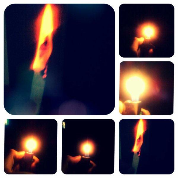 Le feu sa se voit même en nuit