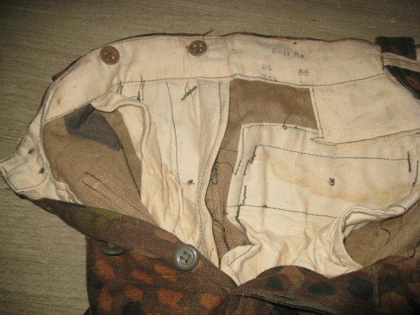 pantalon camouflé