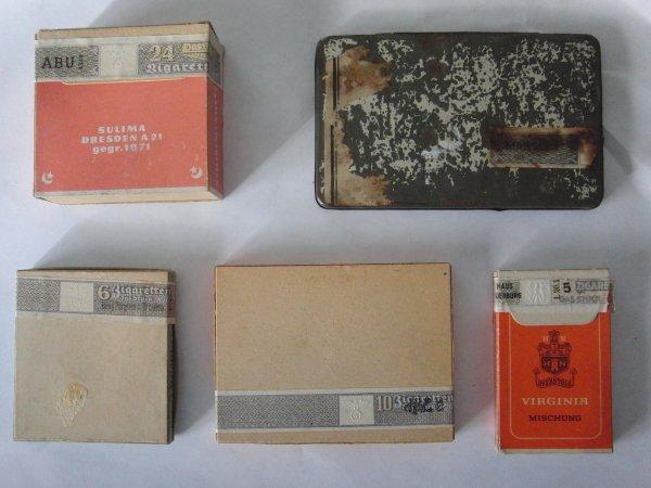 dernières rentrées: lot paquets tabac allemands
