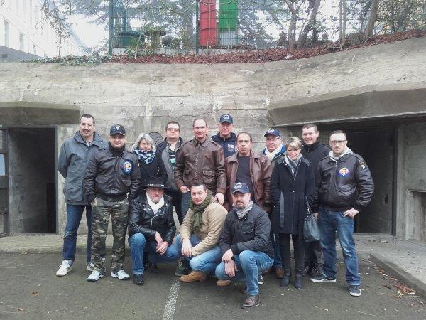AOK 7 LE MANS: VISITE DU BLOCKHAUS PAR LES MEMBRES ENFER NORMAND