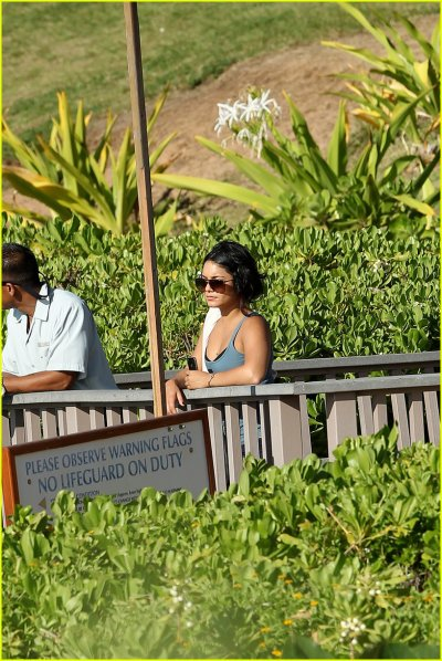 Vanessa Hudgens Heads To Hawaii