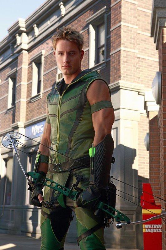 Oliver Queen alias l'Archer vert dans Smallville