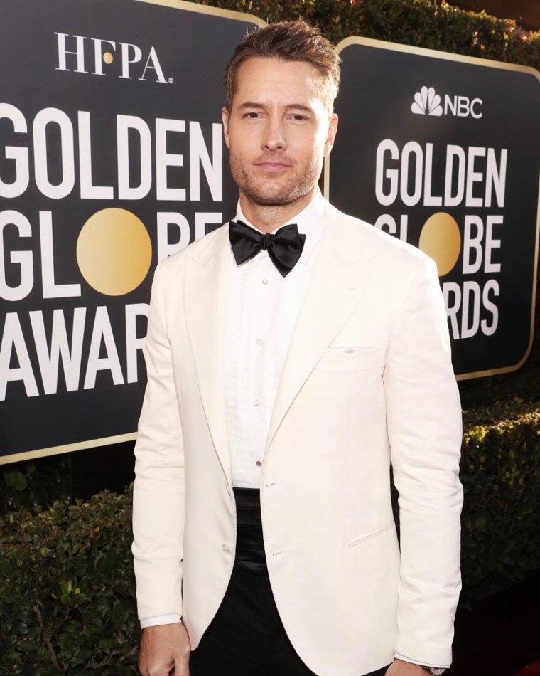 Justin aux Golden Globes le 7 janvier 2019