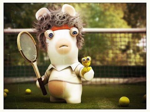 je joue au tennis!!!!!!!!!!