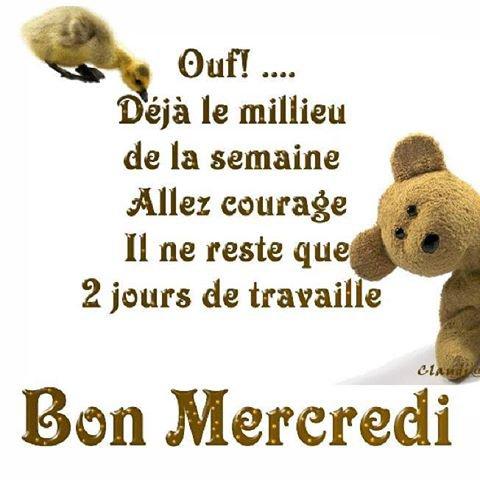 passe un bon mercredi!!!!!!!!!!