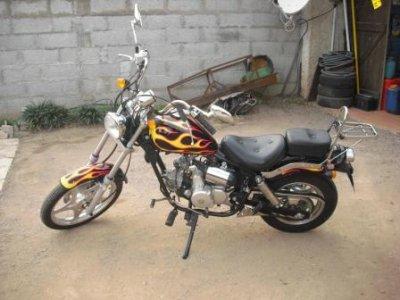 ma 1ere moto