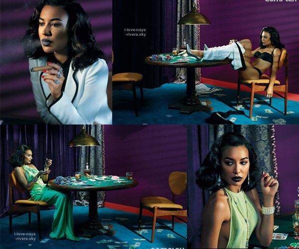Naya Rivera a fait un nouveau photoshoot très sensuelle pour COMPLEX