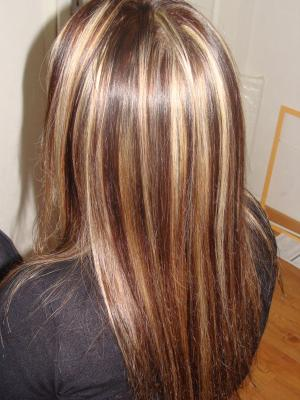 meche blond et chocolat - ezona boutique