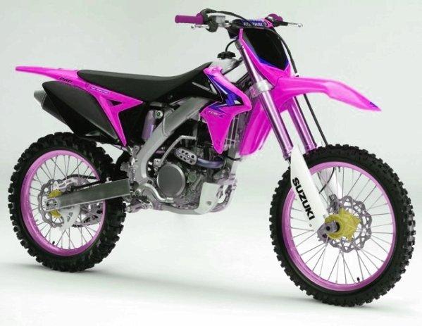 450 Rmz Rose - Blog de deco-perso-moto