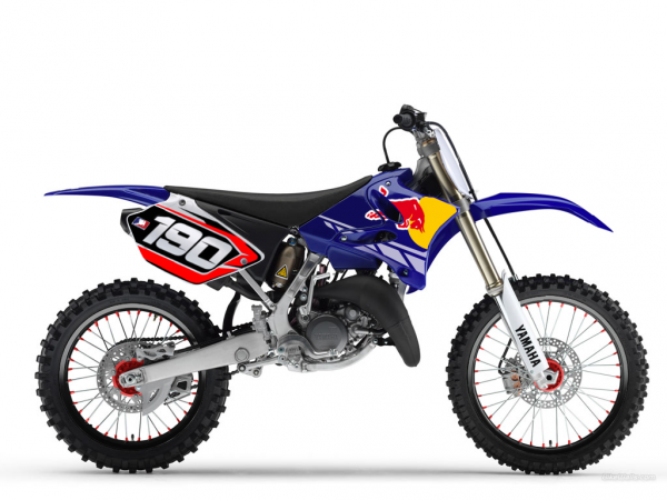 125 yz red bull replica blog de deco perso moto. Black Bedroom Furniture Sets. Home Design Ideas