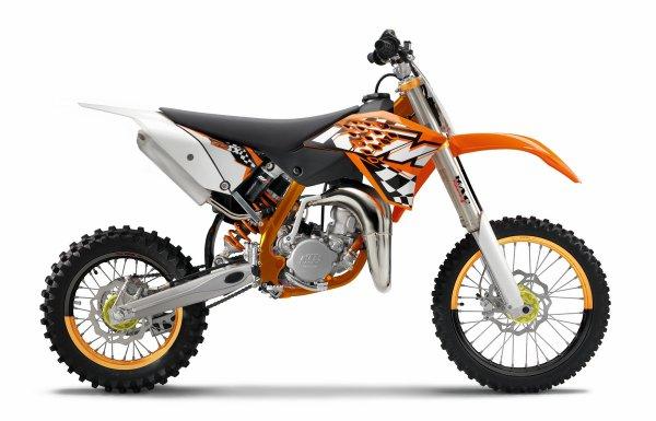 85 Sx 2011 avec plastique de 65 sx.