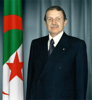 le président d'algerie Abdelaziz Bouteflika