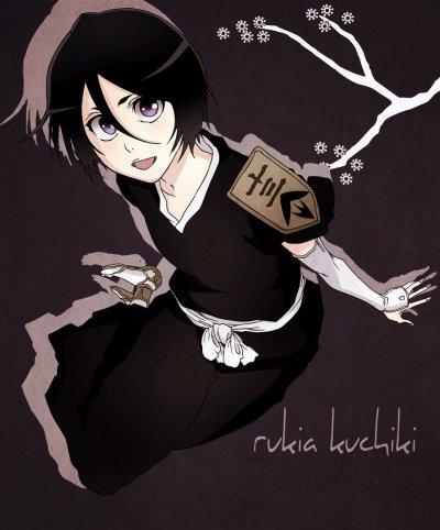 0 Ma petite Rukia en vice capitaine ♥  0