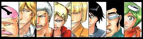 """.VIZARD Ce terme désigne des shinigamis qui ont obtenus des pouvoirs de Hollow par hollowmorphose. On les nomme les """"soldats masqués"""". ."""
