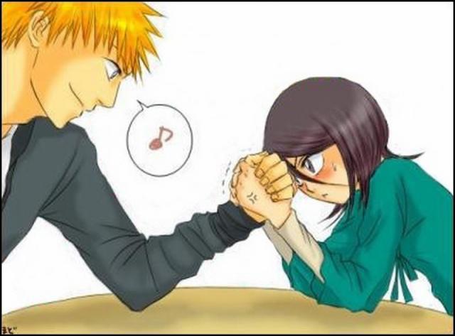 Ichigo VS Rukia