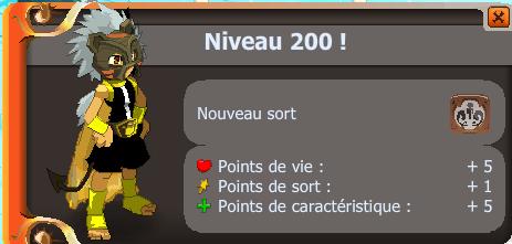 Premier Up 200 !