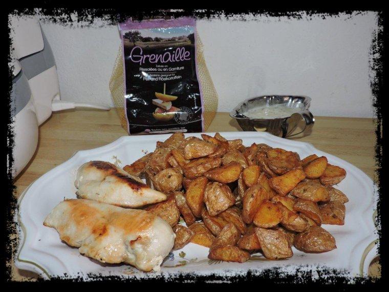 Pomme de terre grenaille au paprika ma passion la cuisine ma devise le fait maison - Comment cuisiner les pommes de terre grenaille ...