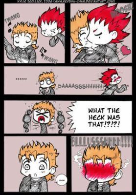 comic Axel et Demyx