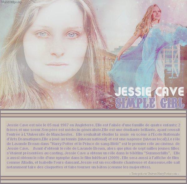 Jessie Cave - Non, tu ne te rendras pas riidiicule, tu l'as dans le sang.