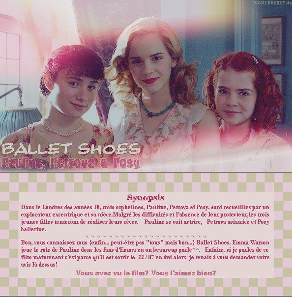 Ballet Shoes - Il y a quatorze ans, Voldemort avaiit une multiitude de gens sous ses ordres