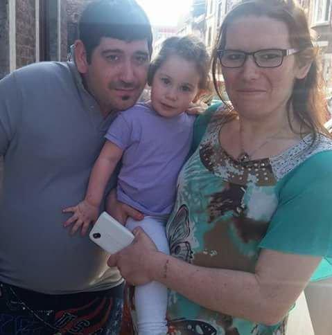 mon frere et sa fille et  moi