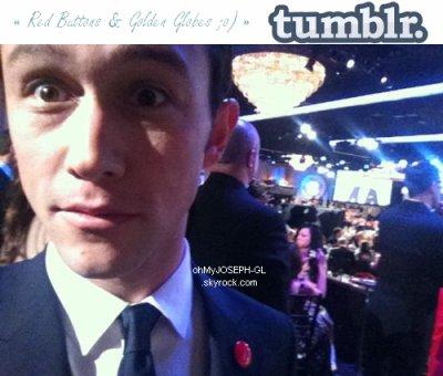 Photo personnelle de Joseph aux Golden Globe Awards :
