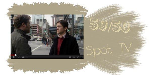 50/50 Spot télé + The Dark Knight Rises, sur le tournage.