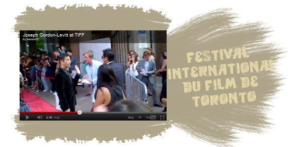 Voici une vidéo de Joseph au TIFF
